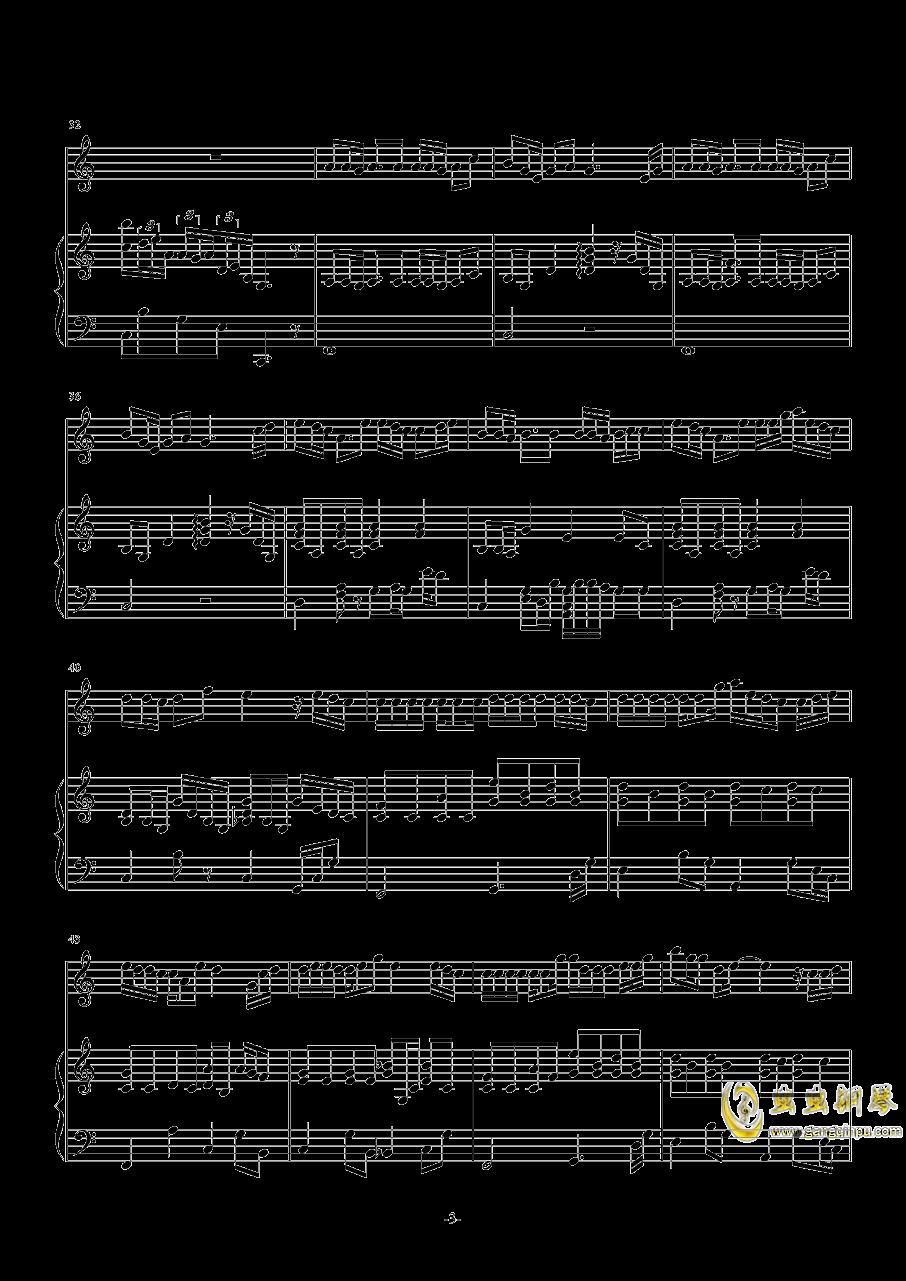 爸爸妈妈钢琴谱 第3页
