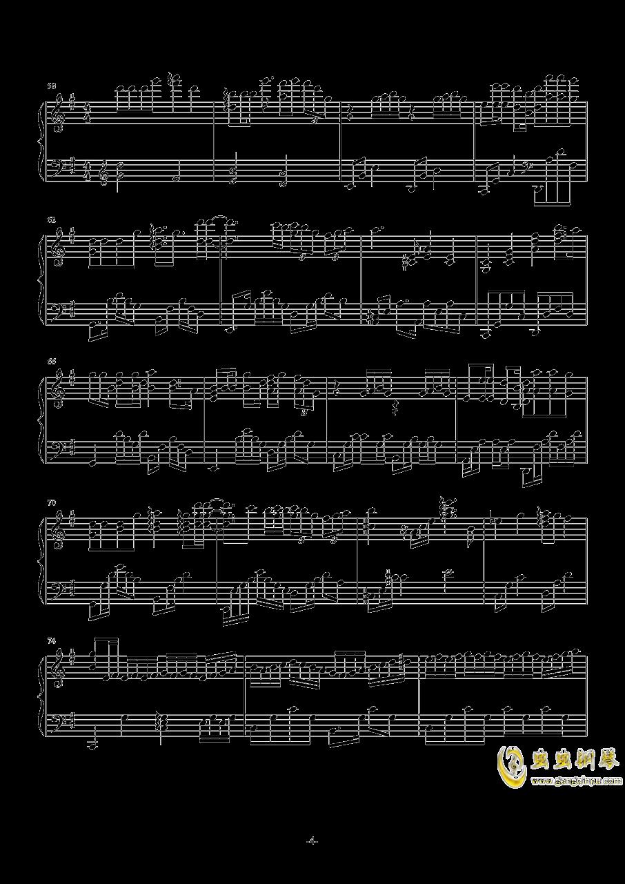 化蝶钢琴谱 第4页