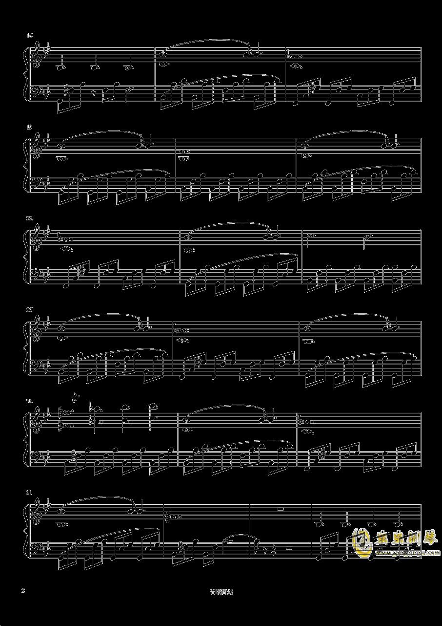 巨鹿钢琴谱 第2页