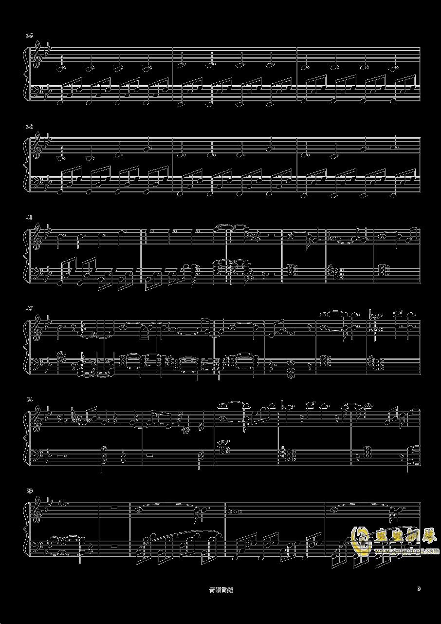 巨鹿钢琴谱 第3页