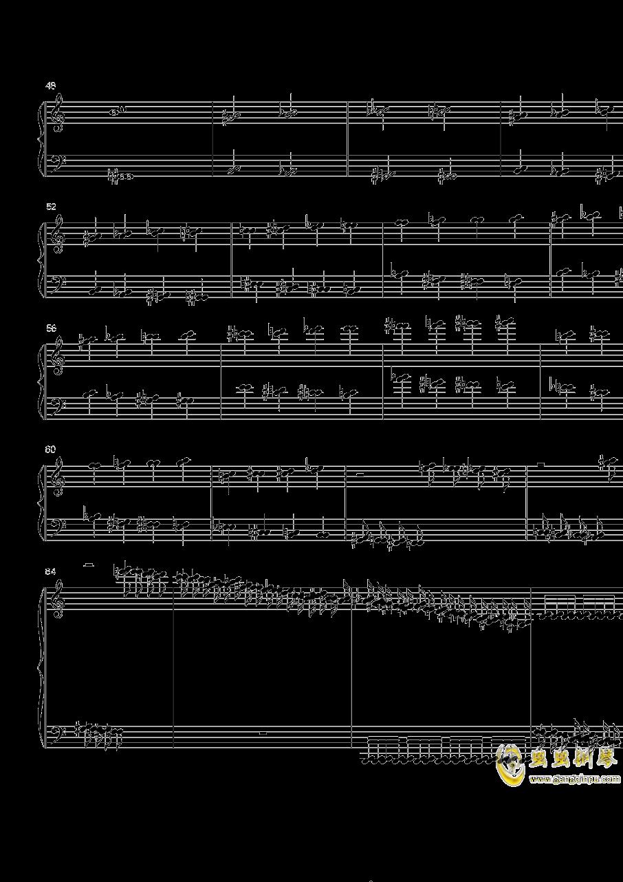 火星练习曲Op.2 No.5钢琴谱 第3页