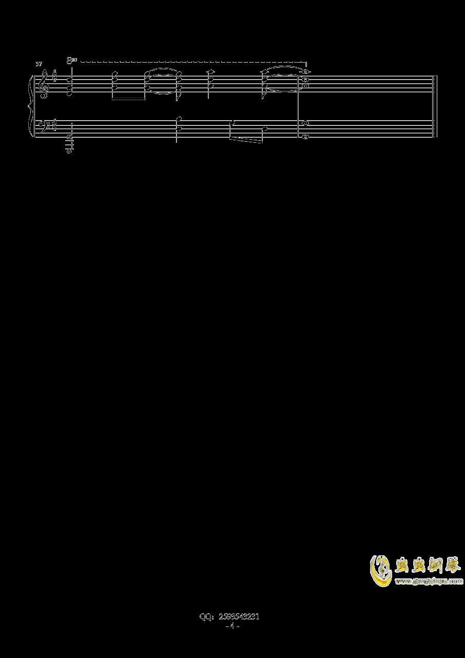 马戏之王钢琴谱 第4页
