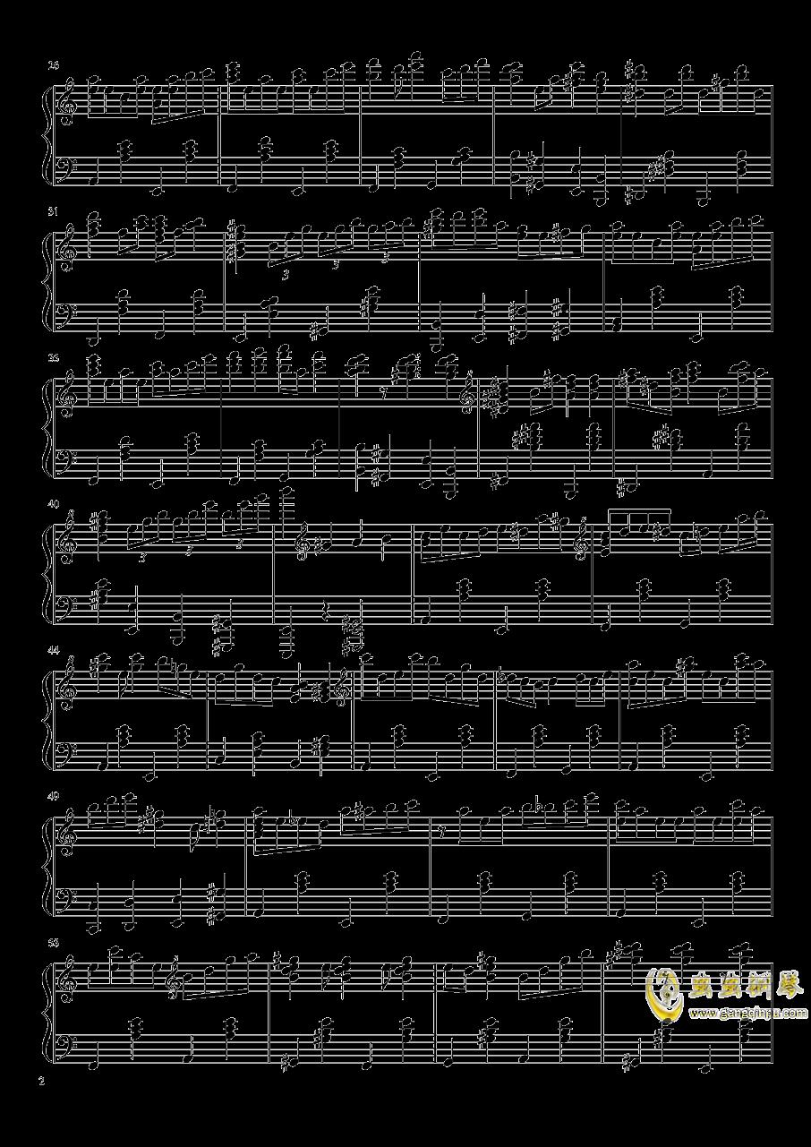 少女觉 ~ 3rd eye钢琴谱 第2页