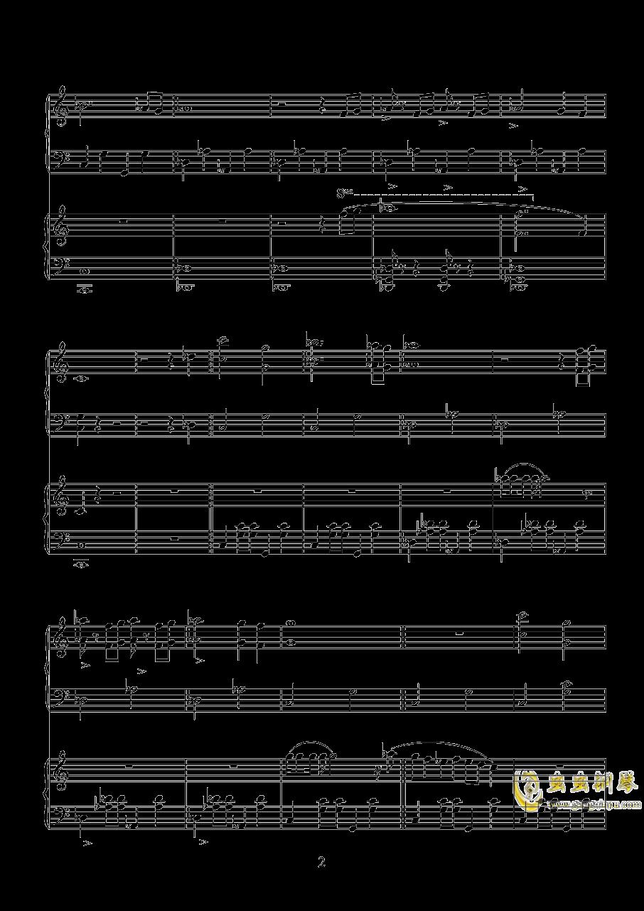 唐探钢琴谱 第2页