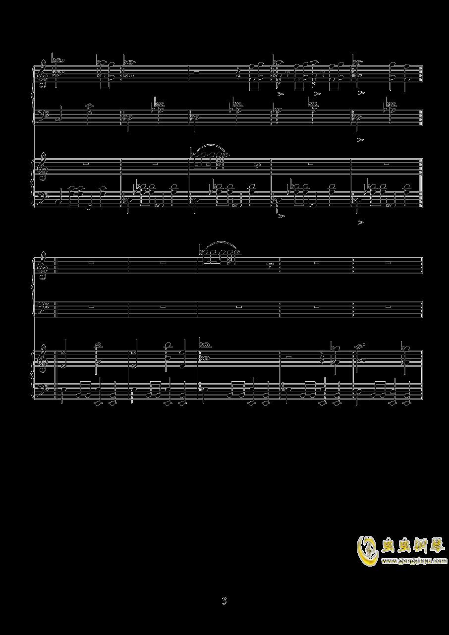 唐探钢琴谱 第3页