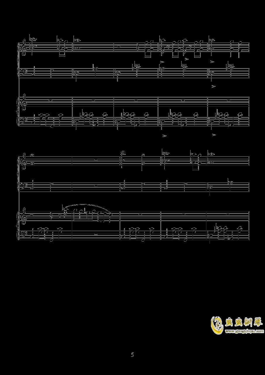 唐探钢琴谱 第5页