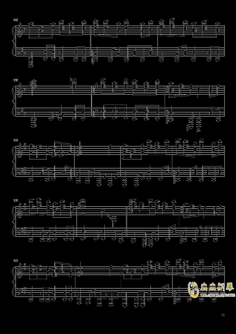 Reverse Ideology钢琴谱 第11页