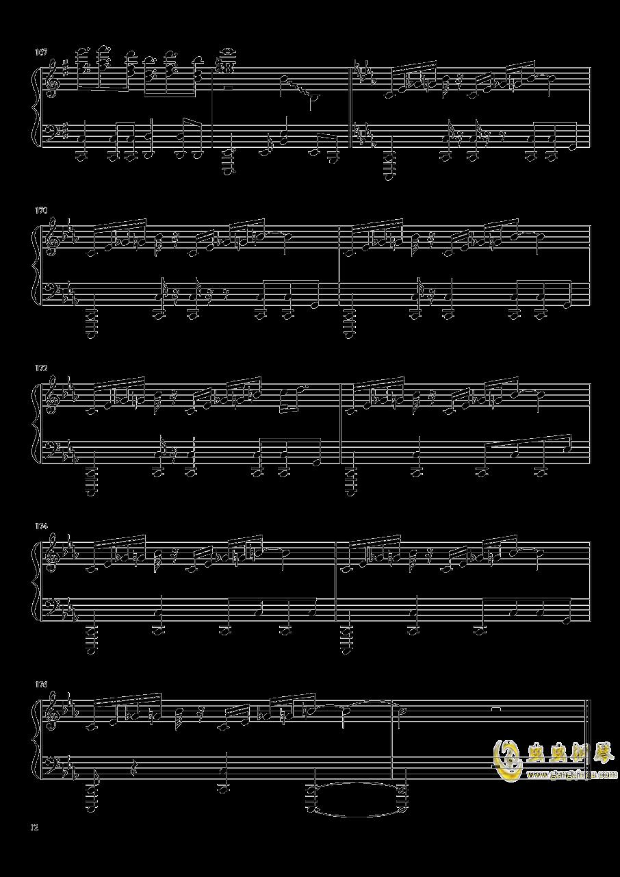 Reverse Ideology钢琴谱 第12页