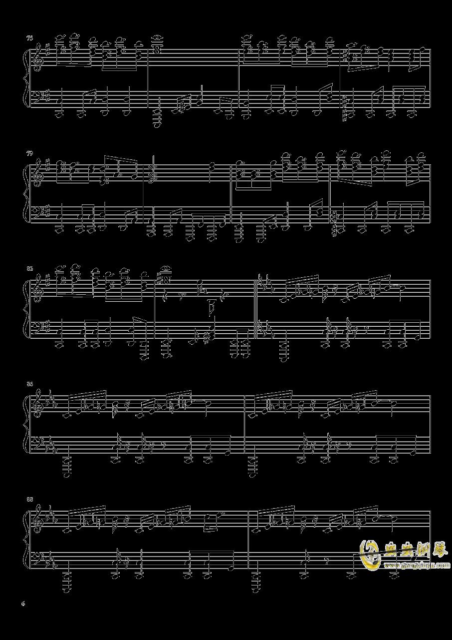 Reverse Ideology钢琴谱 第6页