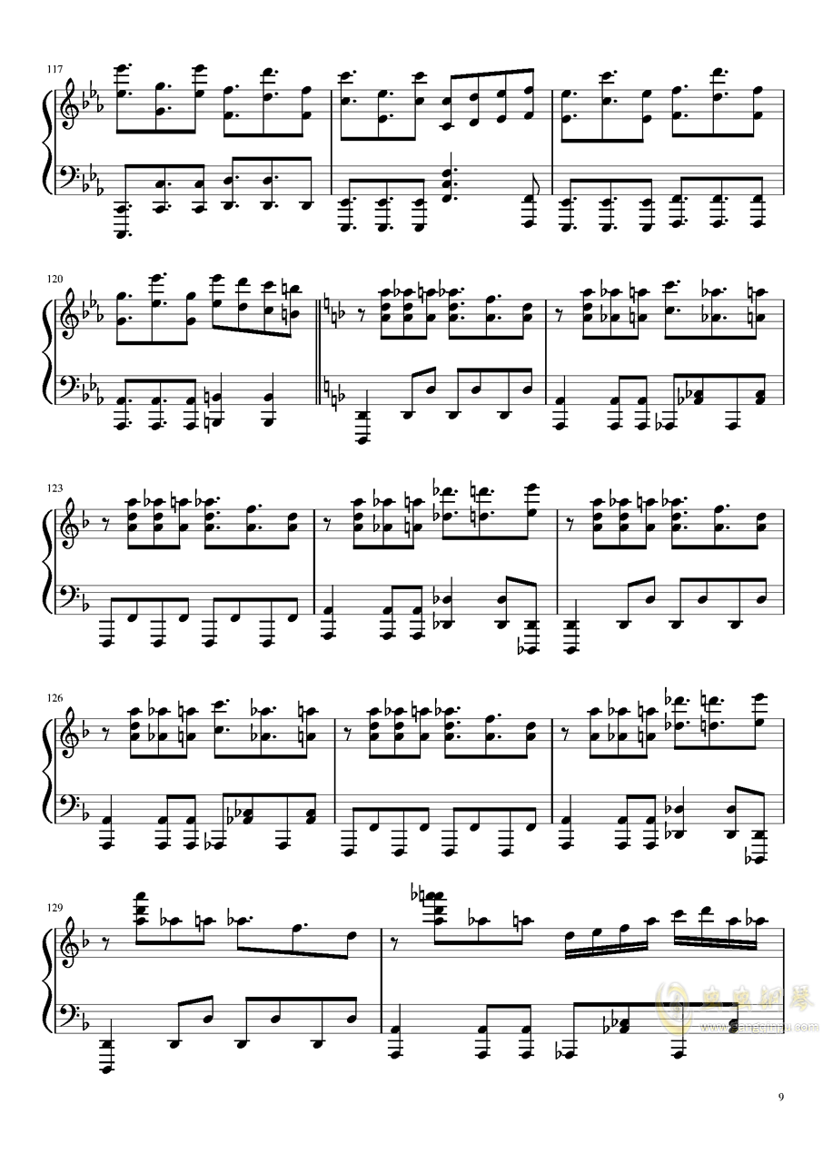 Reverse Ideology钢琴谱 第9页