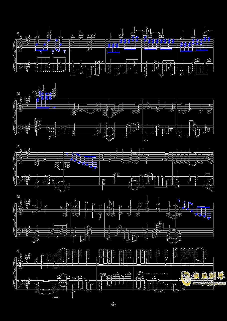 梦回还钢琴谱 第2页