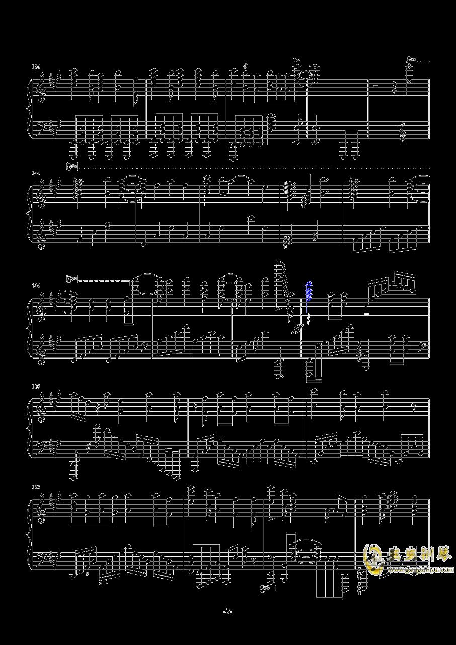 梦回还钢琴谱 第7页