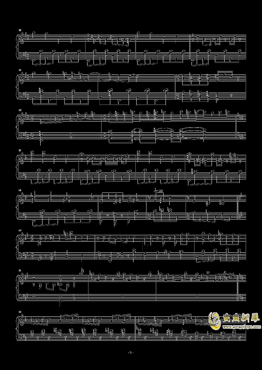 猫和老鼠钢琴谱 第2页