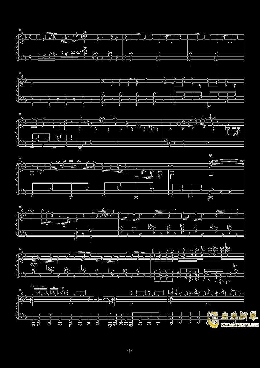 猫和老鼠钢琴谱 第3页