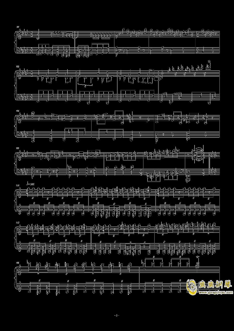 猫和老鼠钢琴谱 第5页