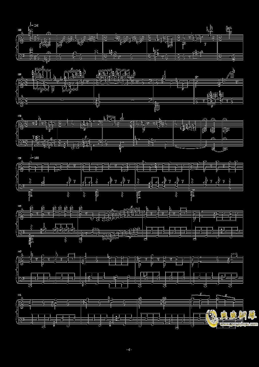 猫和老鼠钢琴谱 第6页