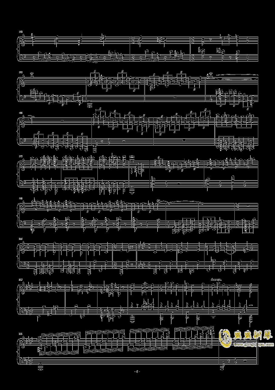 猫和老鼠钢琴谱 第8页