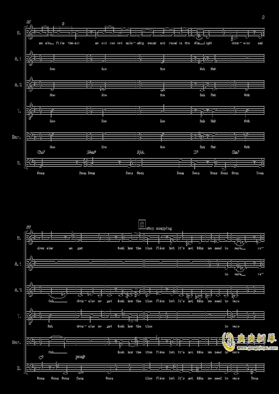 La Vanille - A cappella钢琴谱 第3页