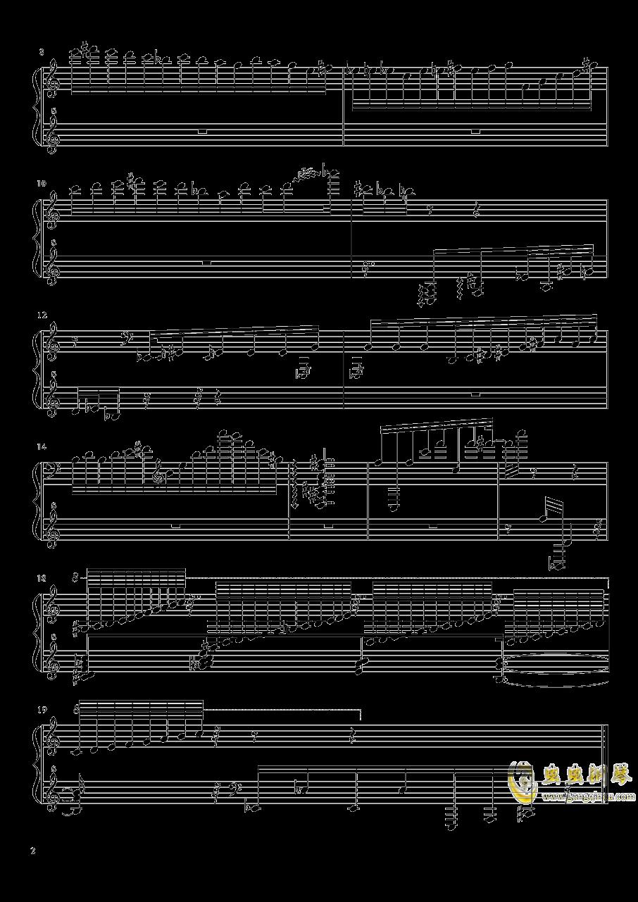 18N前奏曲――掉落钢琴谱 第2页