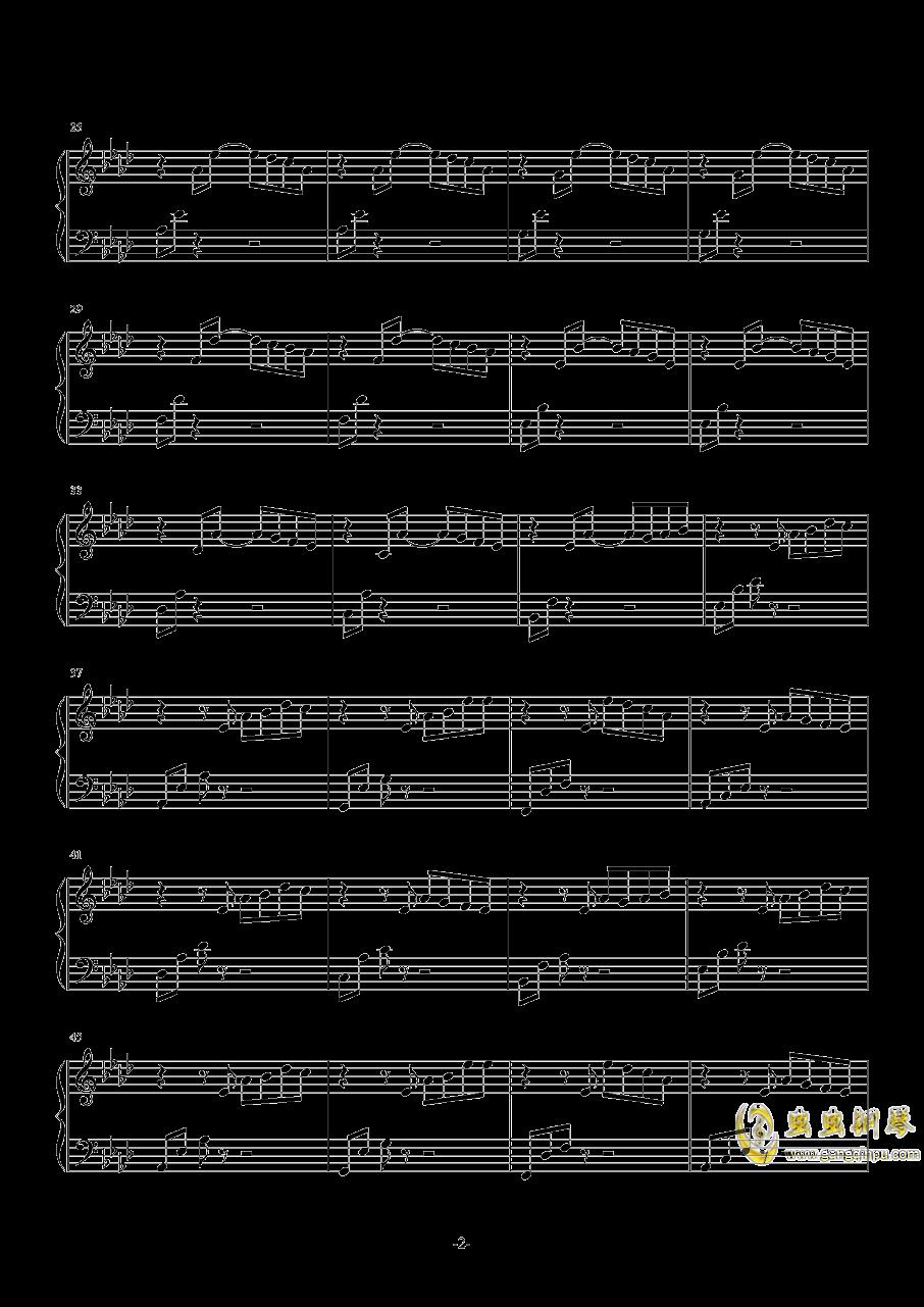 Awaken the Dawn钢琴谱 第2页