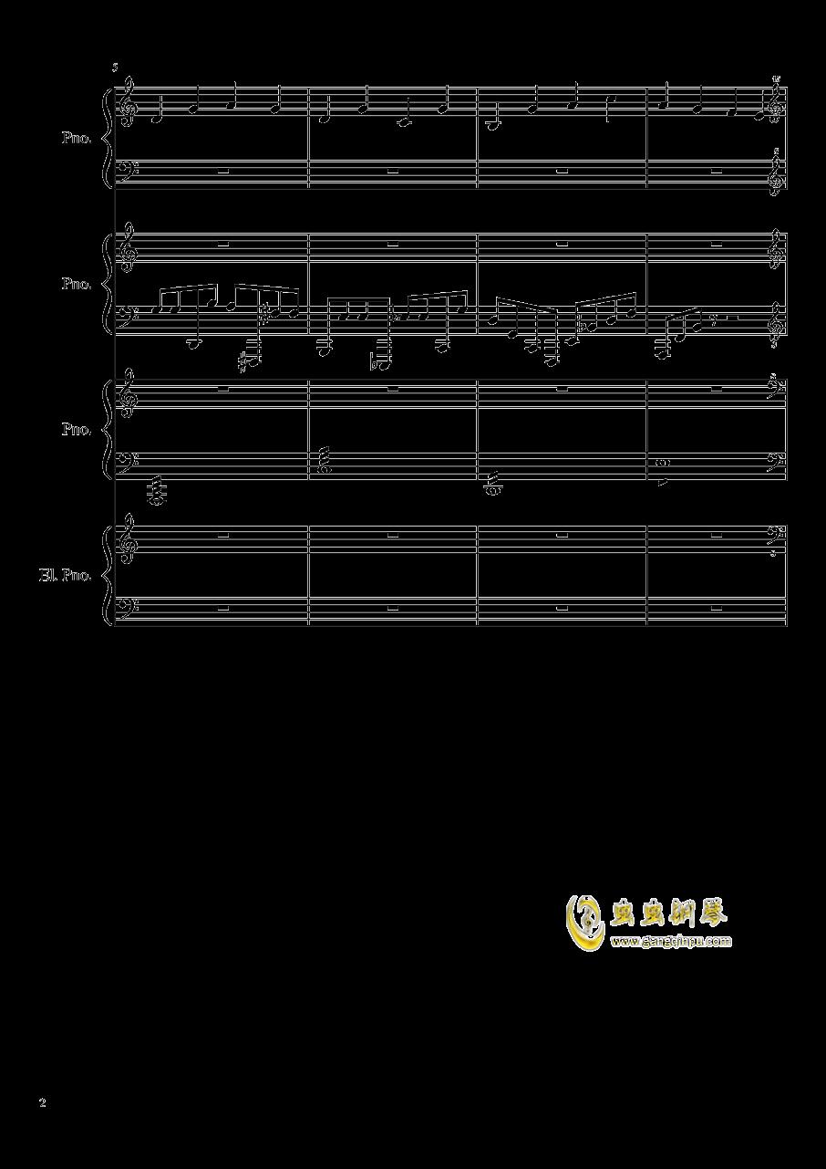(毁电脑系列)黑乐谱钢琴谱 第2页