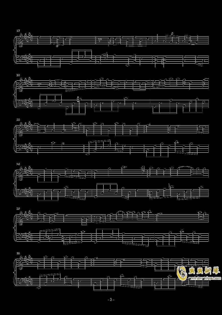 最暖的忧伤钢琴谱 第2页