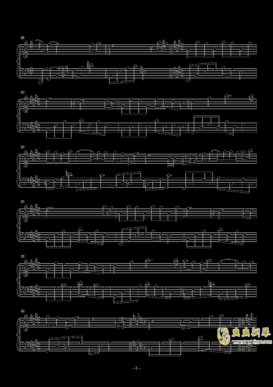 最暖的忧伤钢琴谱 第4页