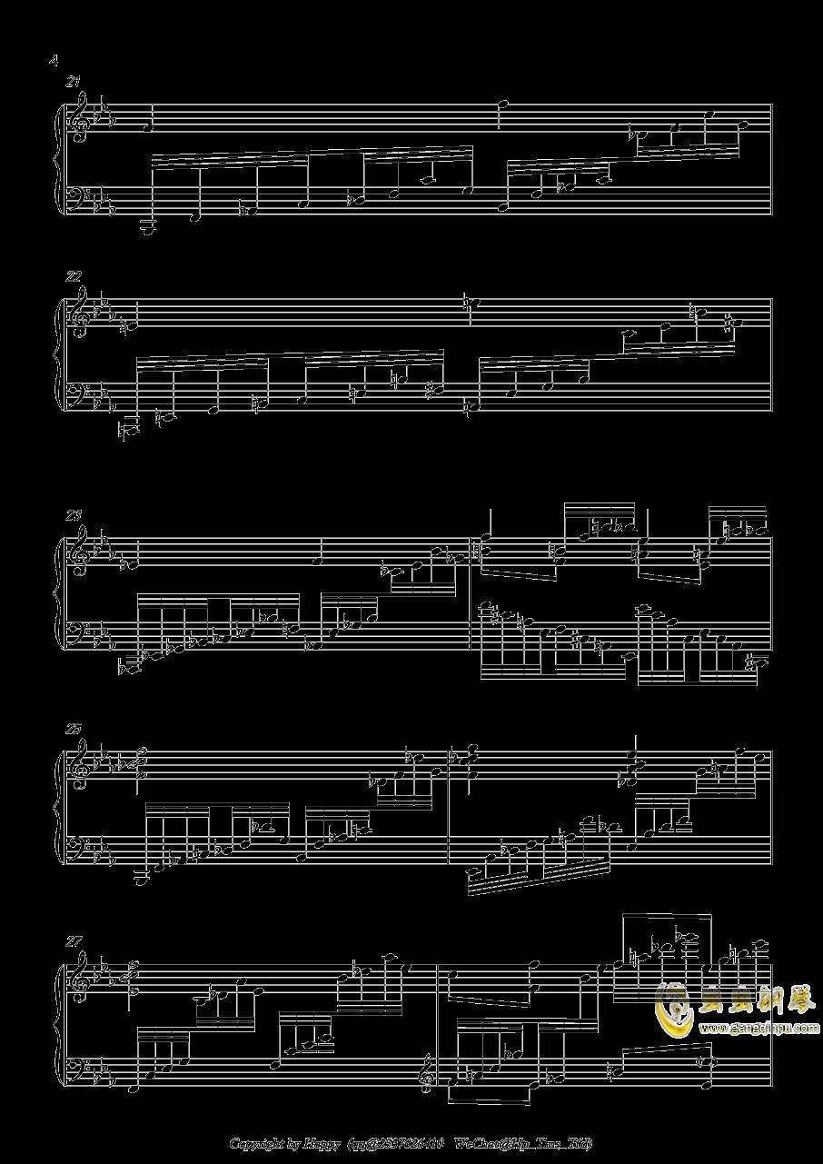 幻想风格琶音练习曲钢琴谱 第4页