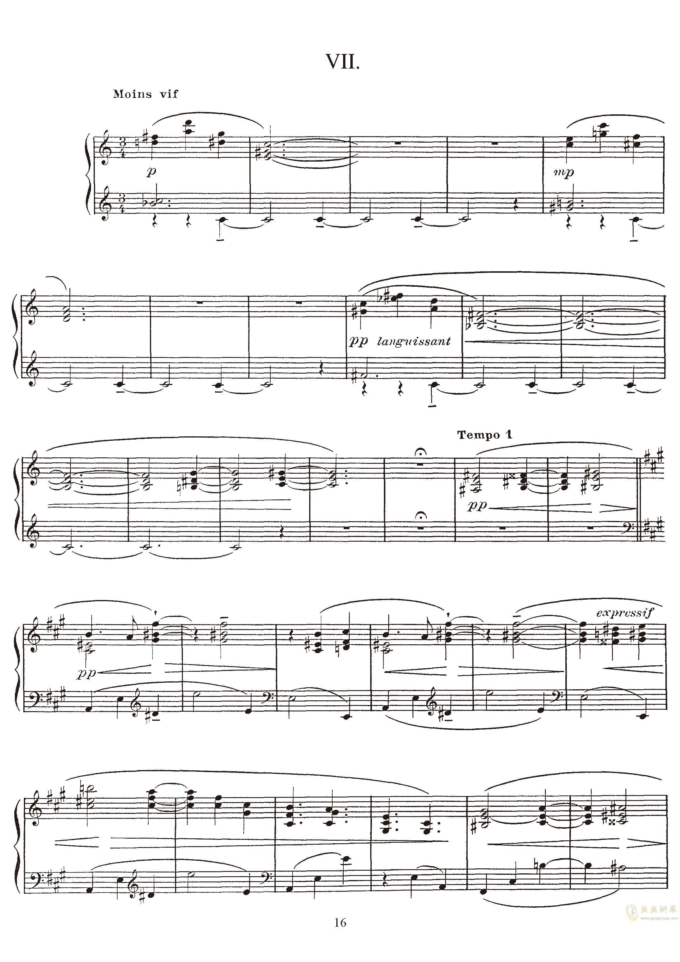 高贵而伤感的圆舞曲钢琴谱 第16页