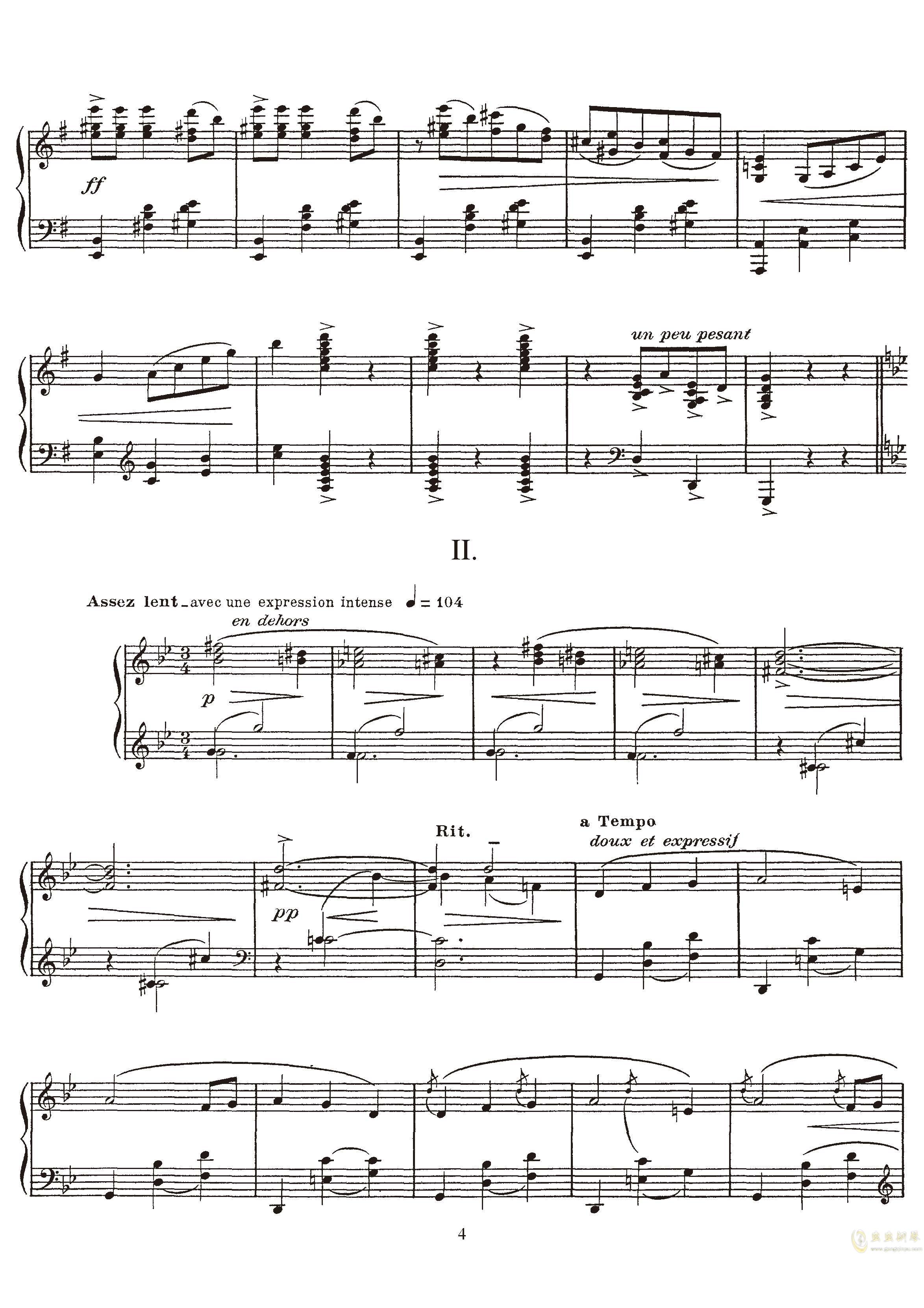 高贵而伤感的圆舞曲钢琴谱 第4页
