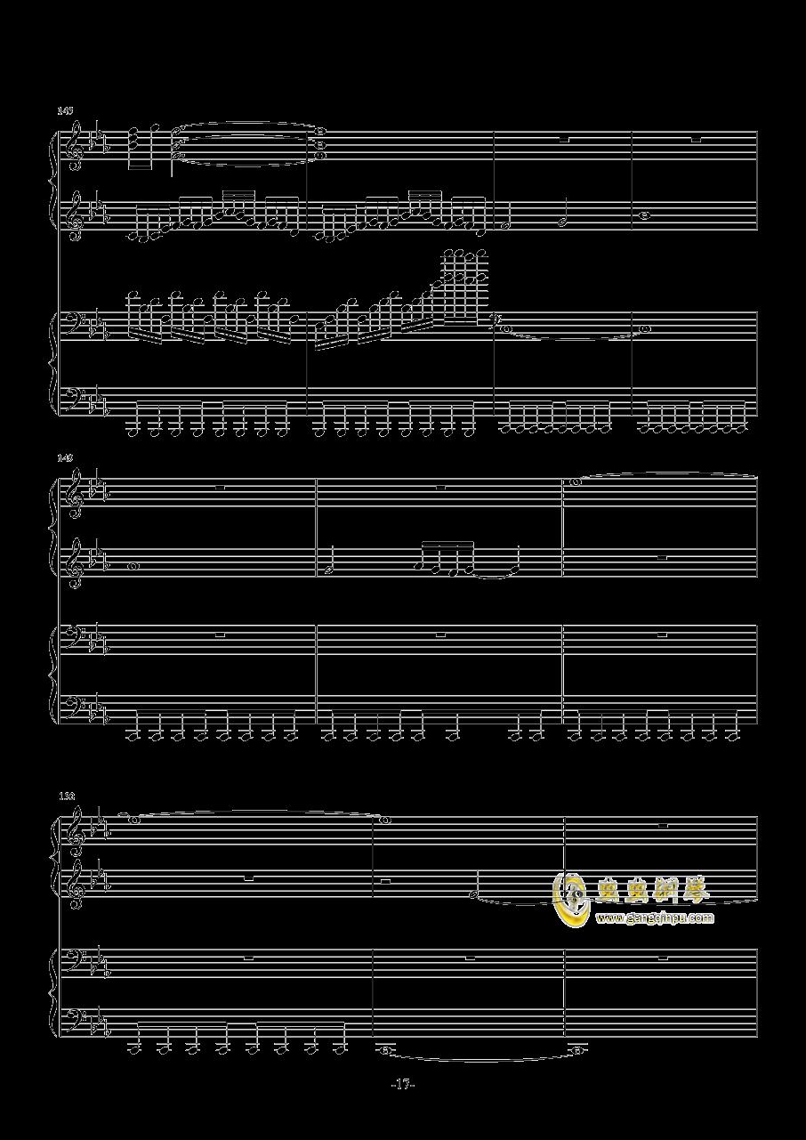 Final Frontier钢琴谱 第17页
