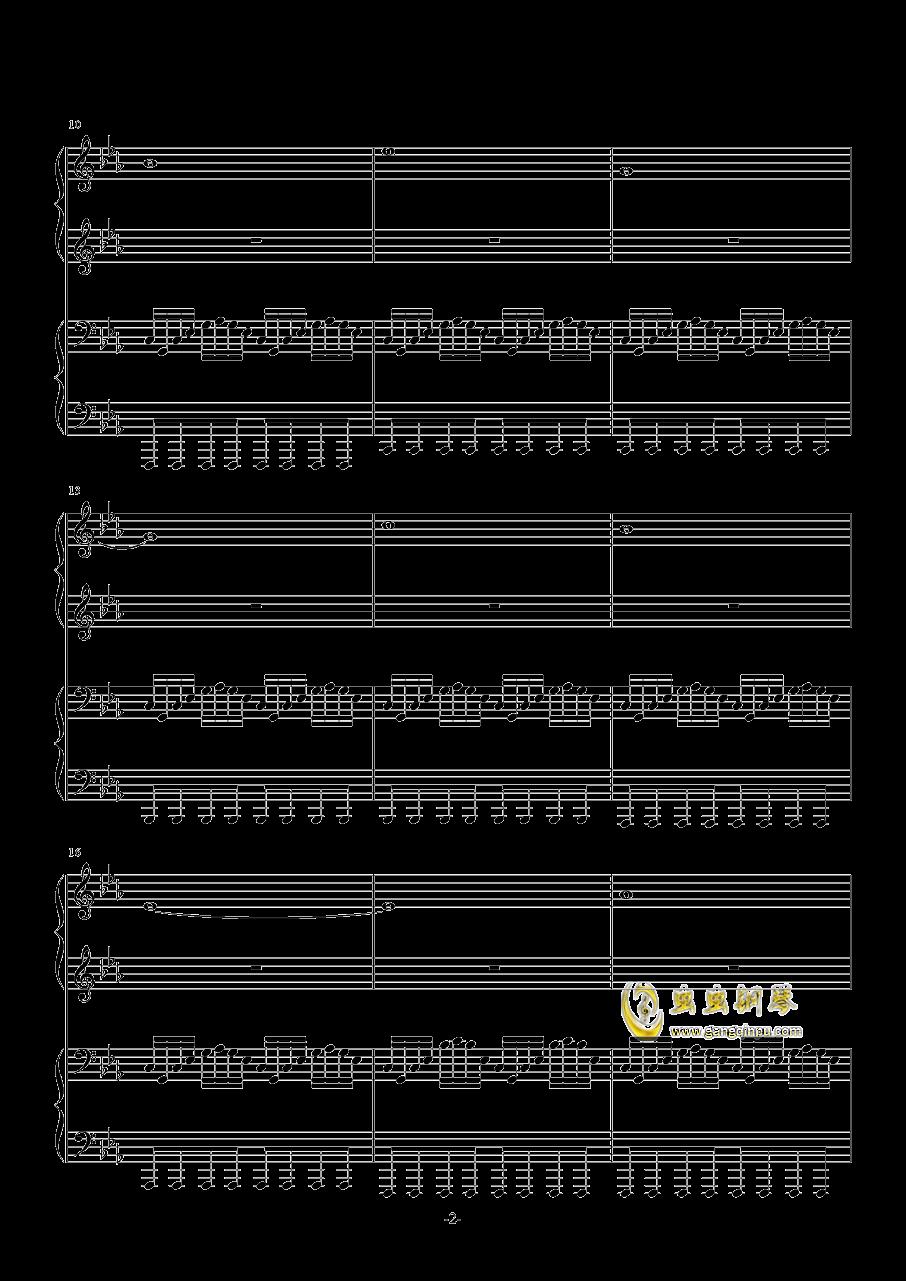 Final Frontier钢琴谱 第2页