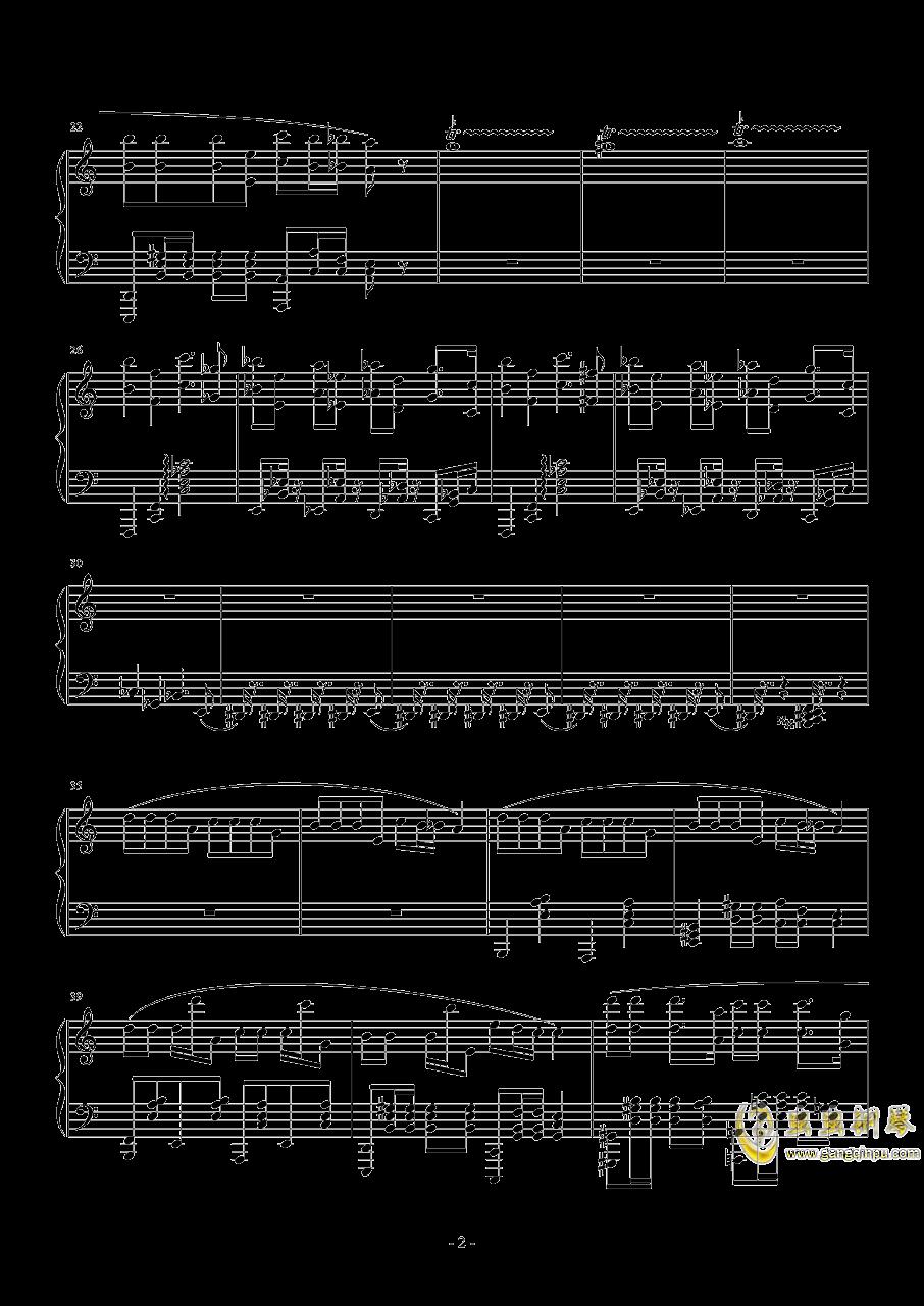 压力大啊压力大钢琴谱 第2页