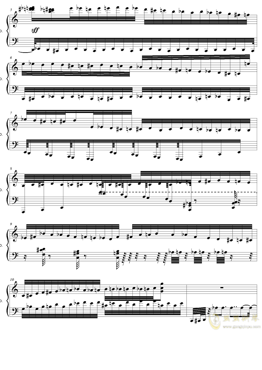 HSE超技练习曲2――火蚁钢琴谱 第2页