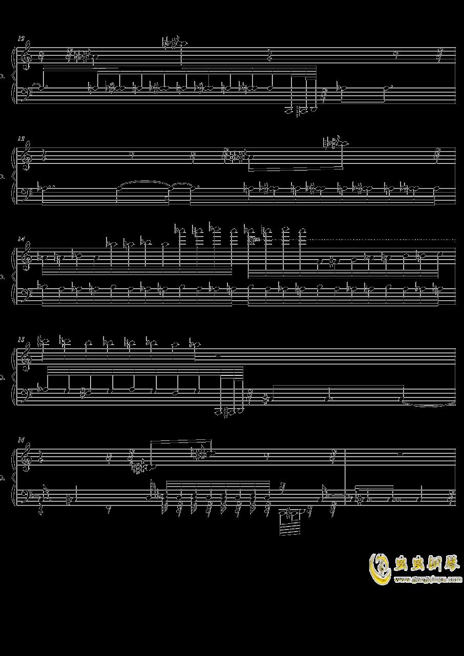HSE超技练习曲2――火蚁钢琴谱 第3页