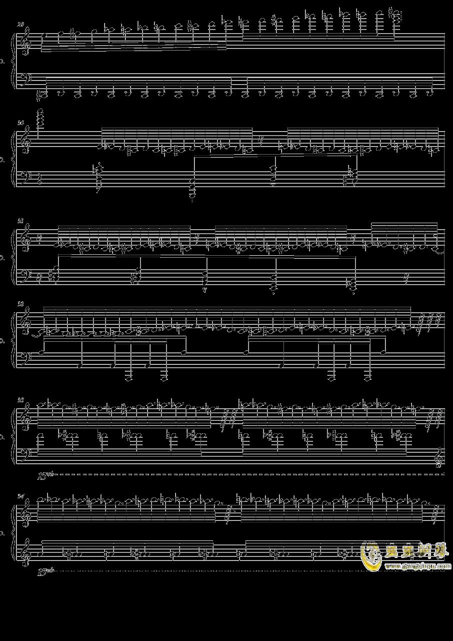 HSE超技练习曲2――火蚁钢琴谱 第6页