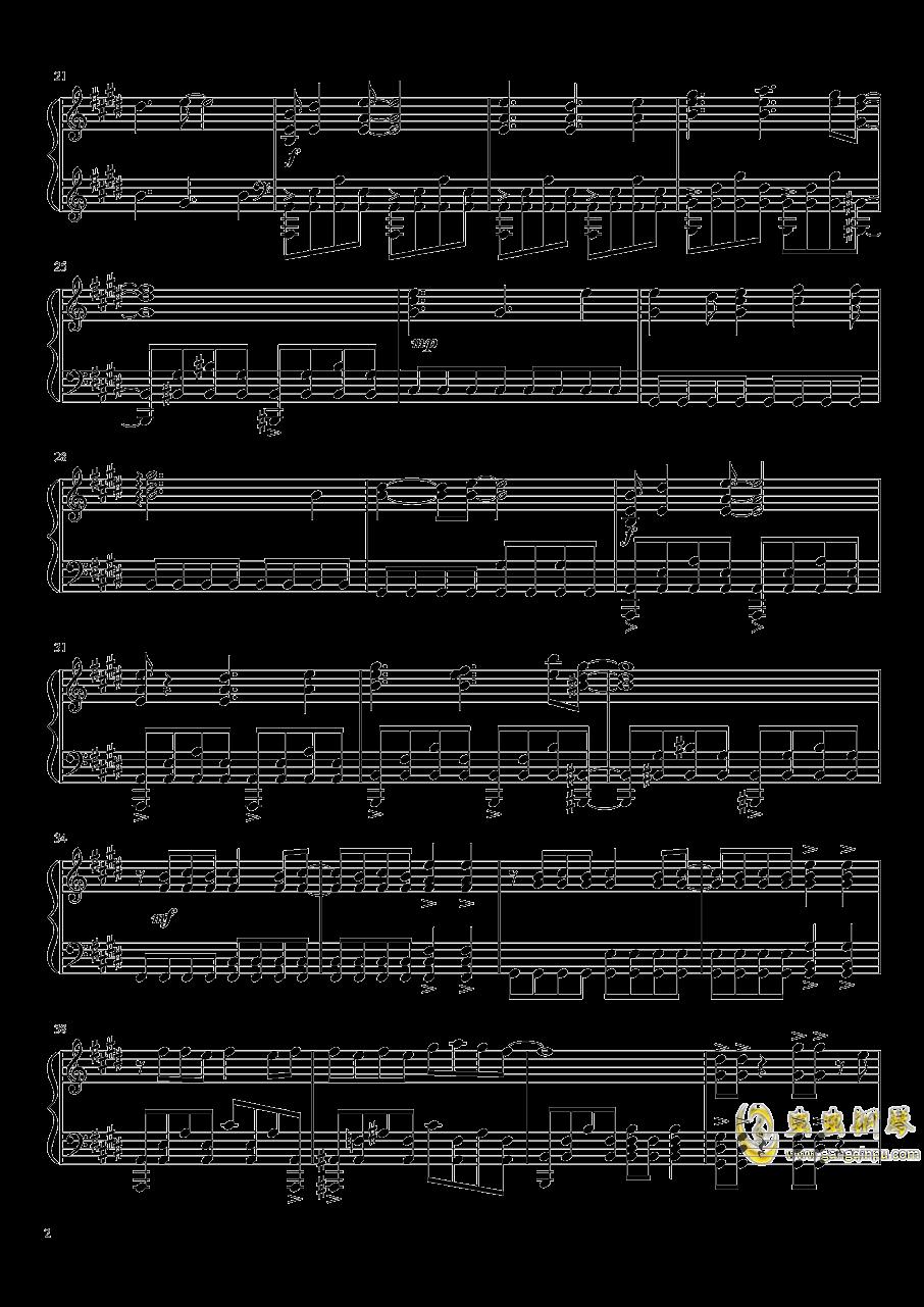 innocence钢琴谱 第2页