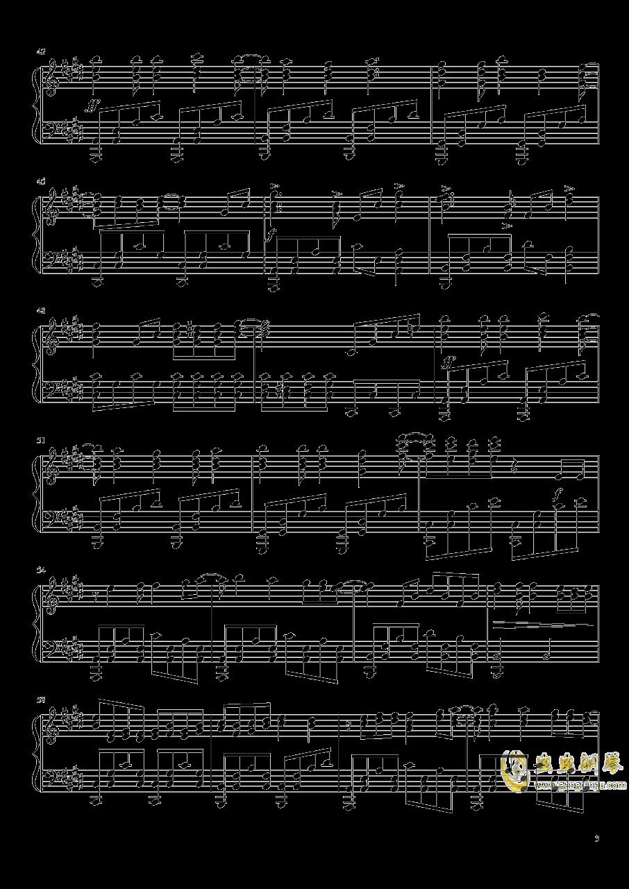 innocence钢琴谱 第3页