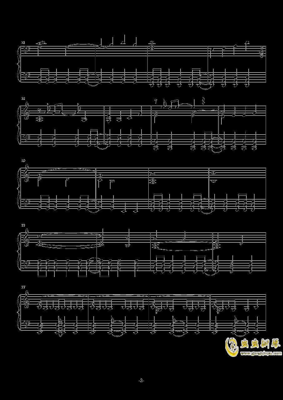 TwoStepsFromHell-Breathe钢琴谱 第2页