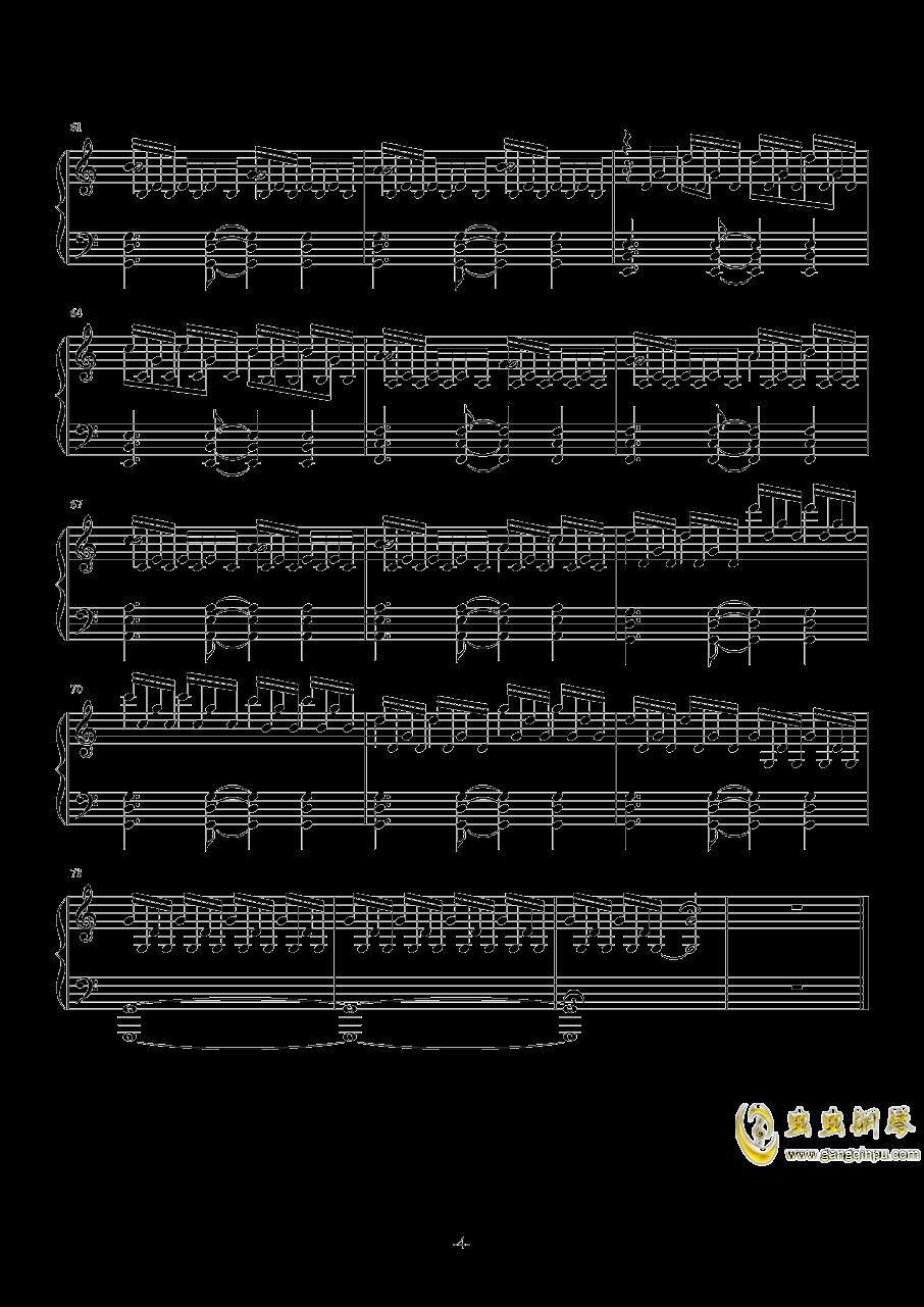 TwoStepsFromHell-Breathe钢琴谱 第4页