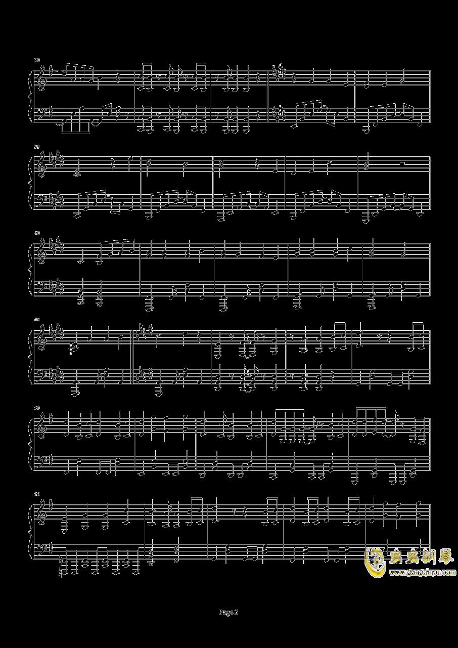 精灵宝可梦XY OP1 V钢琴谱 第2页