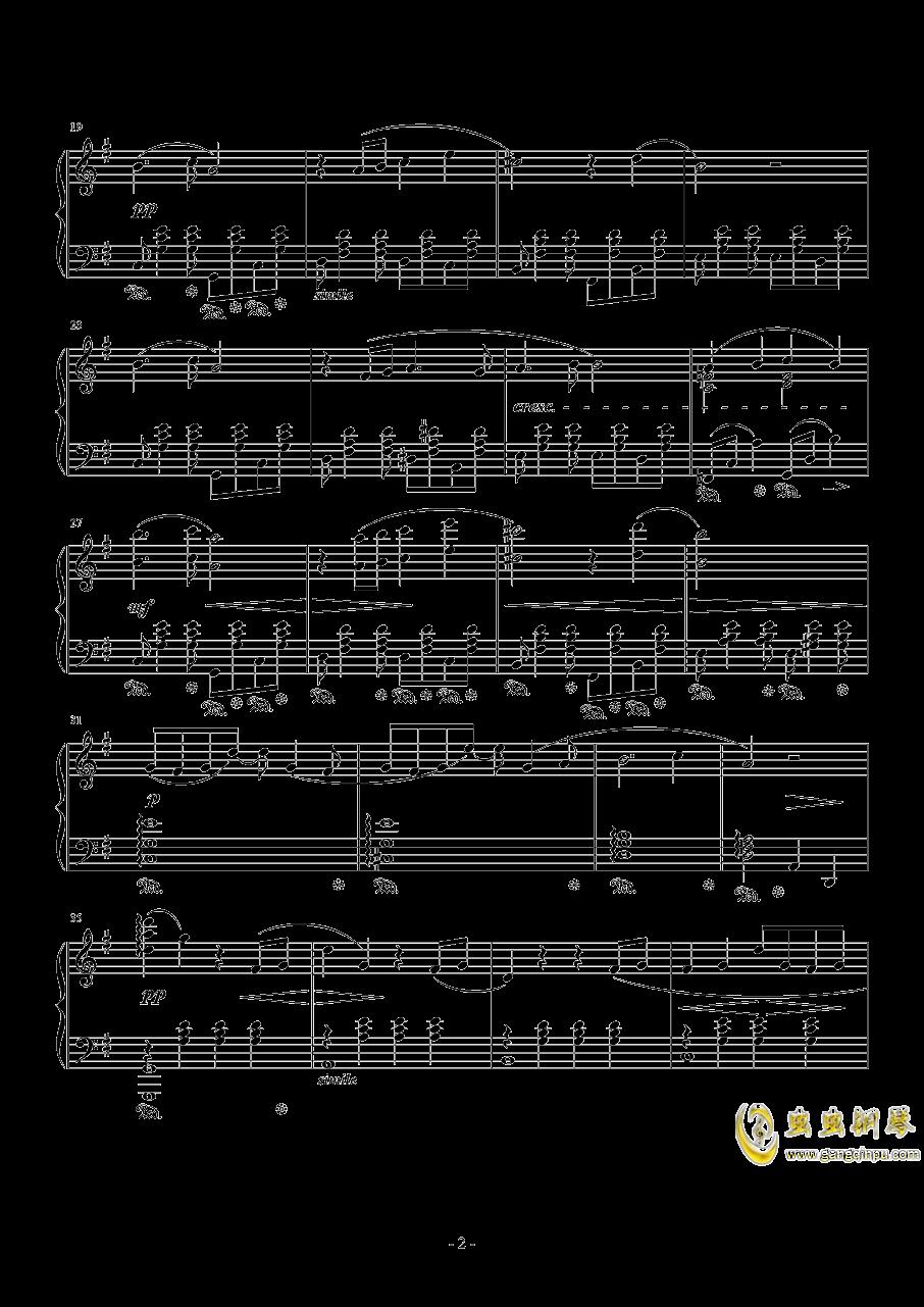 克劳德的微笑钢琴谱 第2页