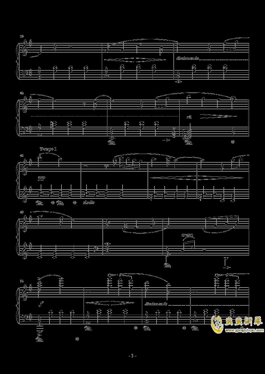 克劳德的微笑钢琴谱 第3页
