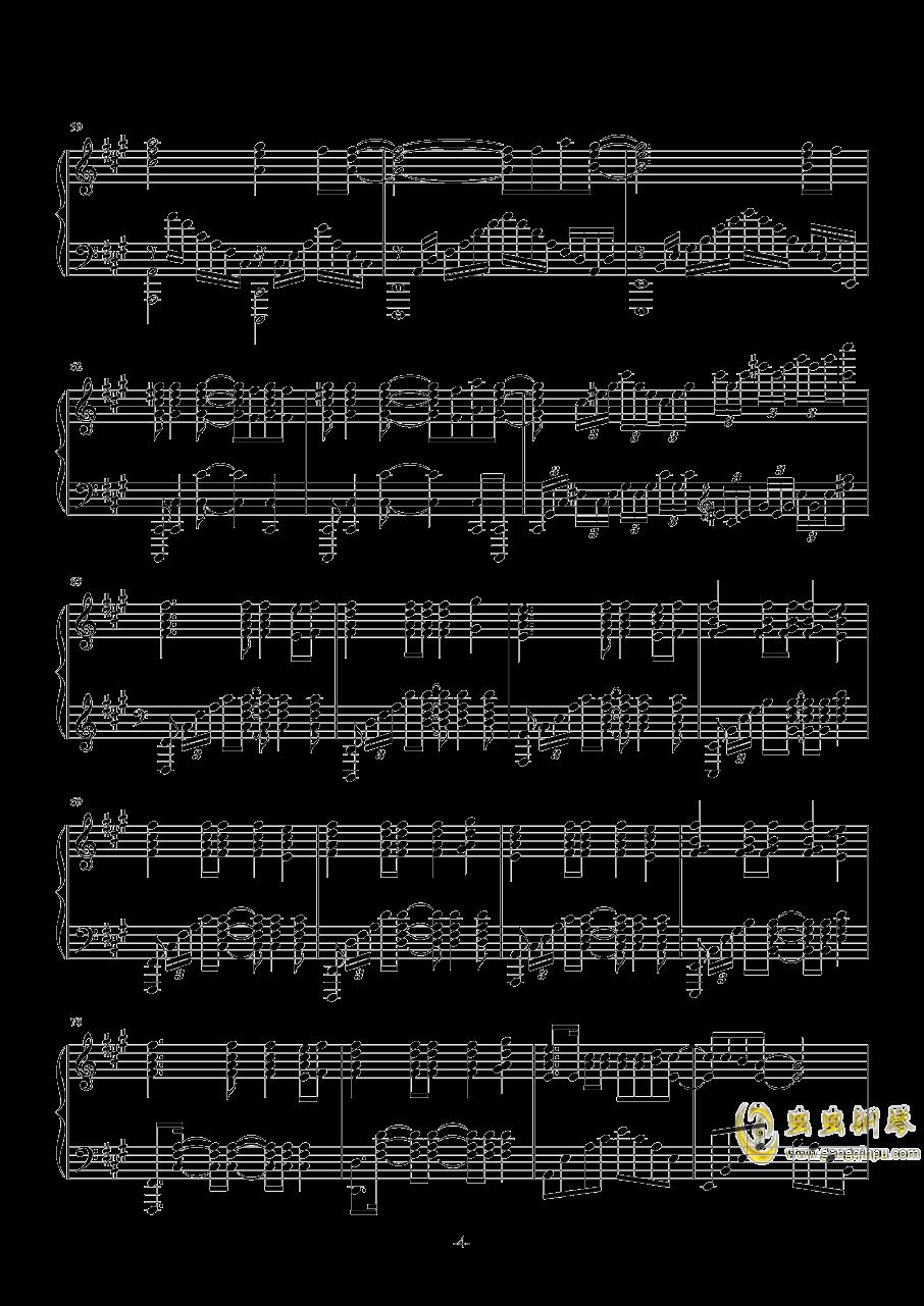 Numb-Linkin Park钢琴谱 第4页
