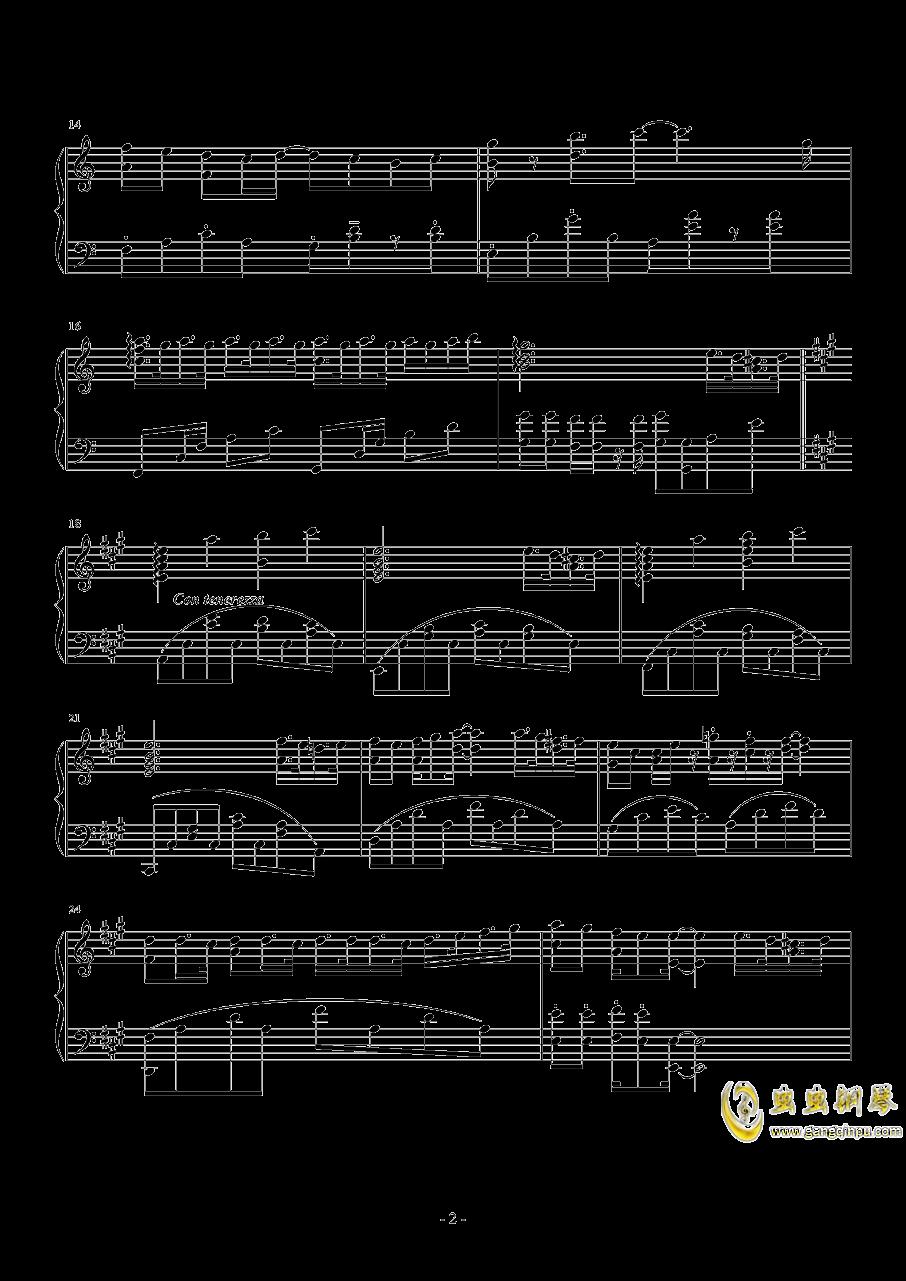 【经典番】点兔第二季ed~ときめきポポロン!(心动泡芙)钢琴谱 第2页