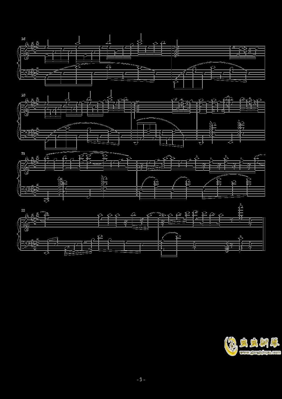 【经典番】点兔第二季ed~ときめきポポロン!(心动泡芙)钢琴谱 第3页