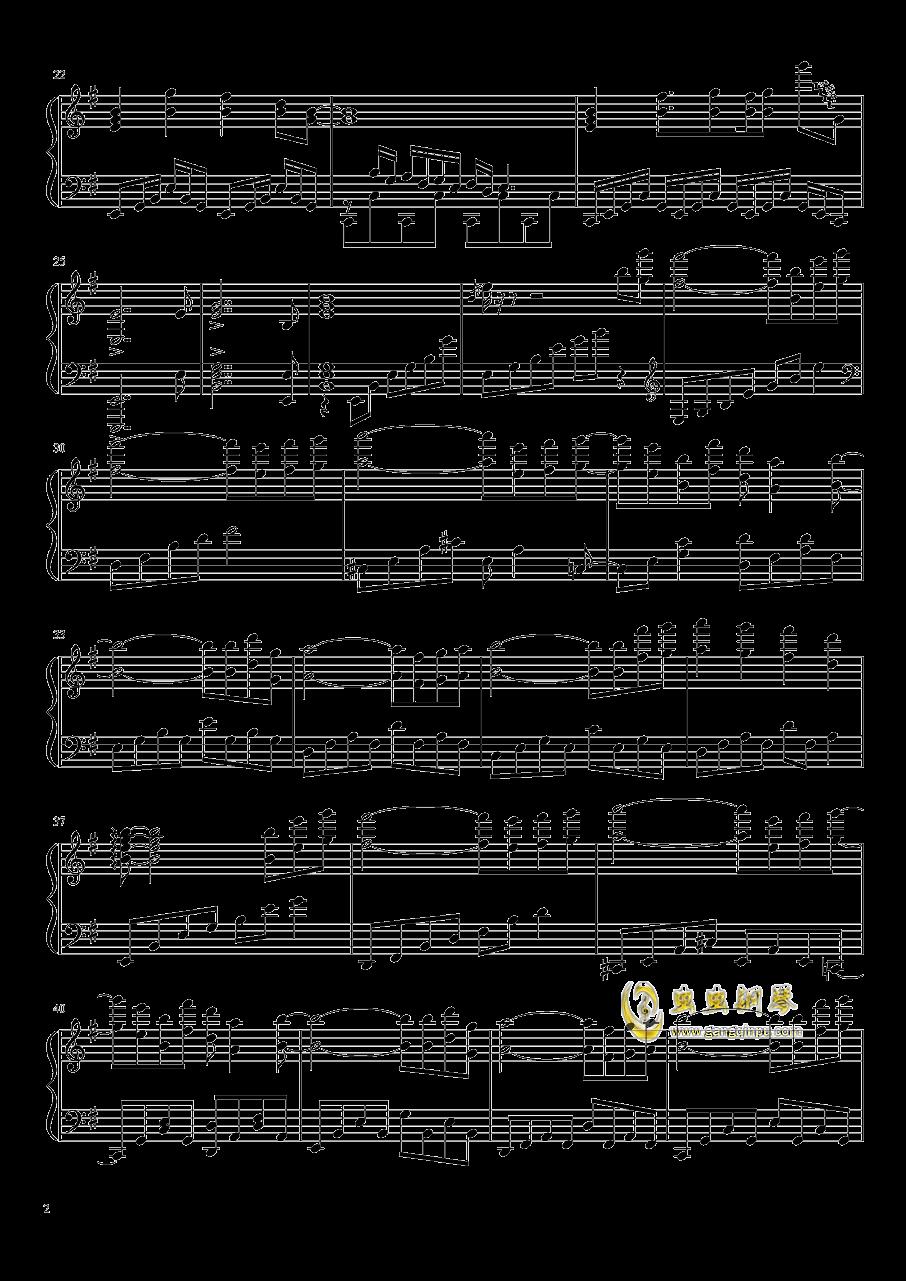 �|方妖々�簟�Ancient Temple钢琴谱 第2页