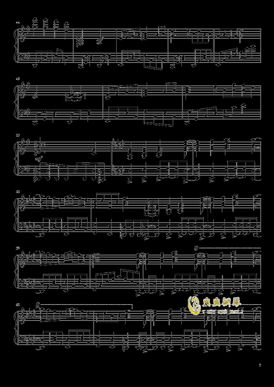 �|方妖々�簟�Ancient Temple钢琴谱 第3页