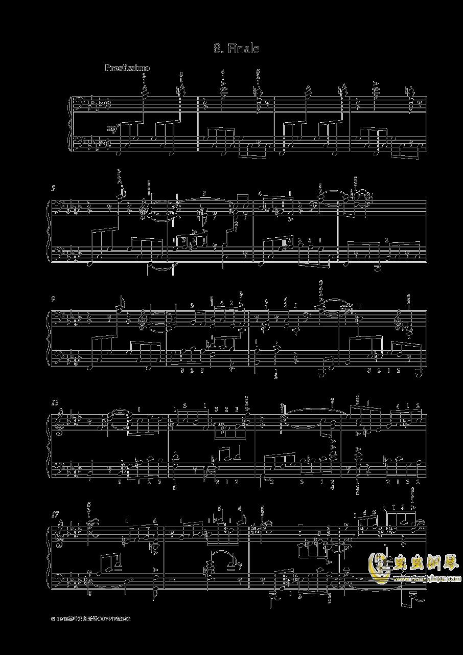 尼古拉斯凯帕斯汀 钢琴谱 第1页