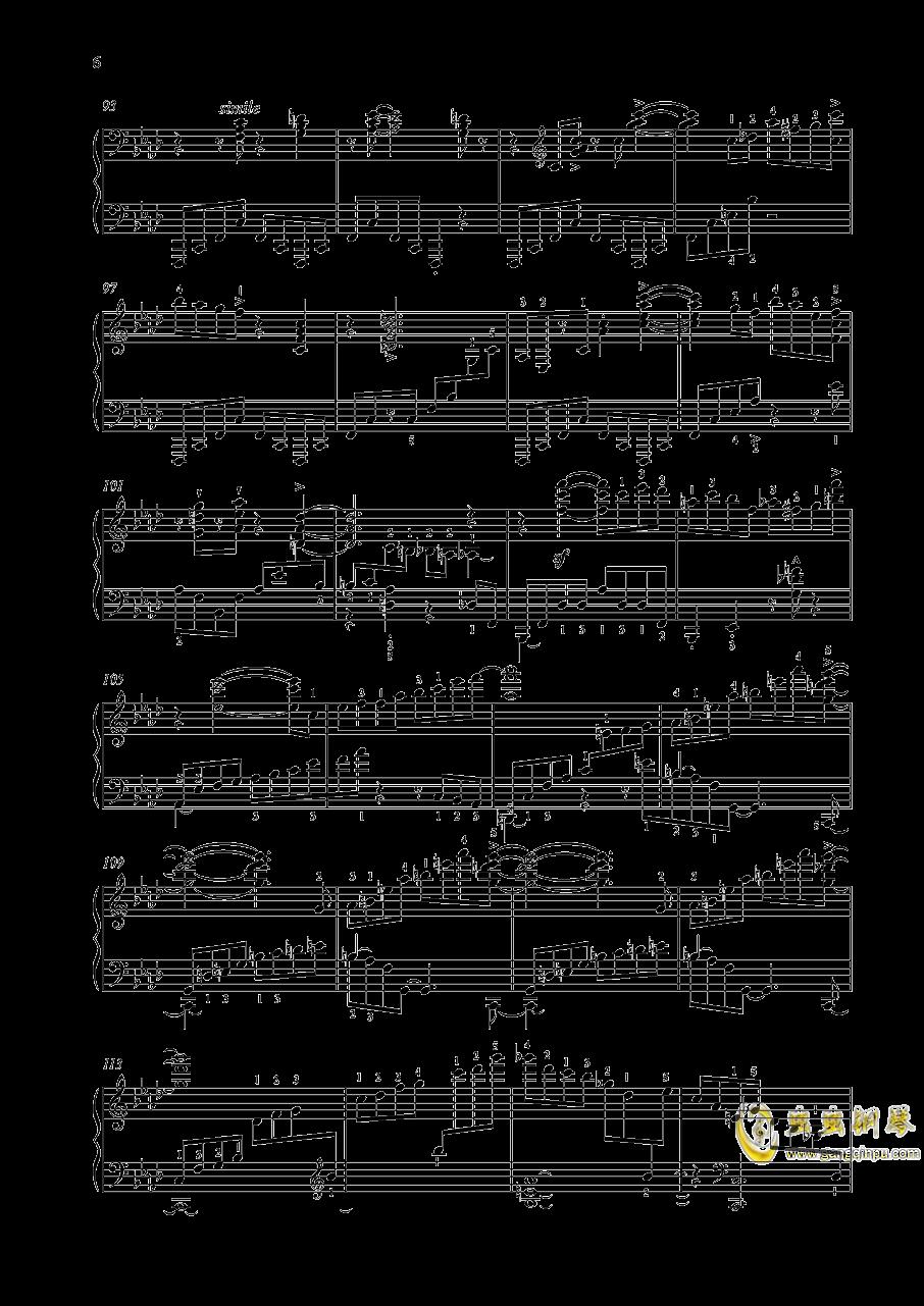 尼古拉斯凯帕斯汀 钢琴谱 第5页